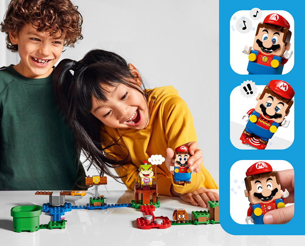 Lego Super Mario Trailer Reveals Lego and Nintendo's New Interactive Toys