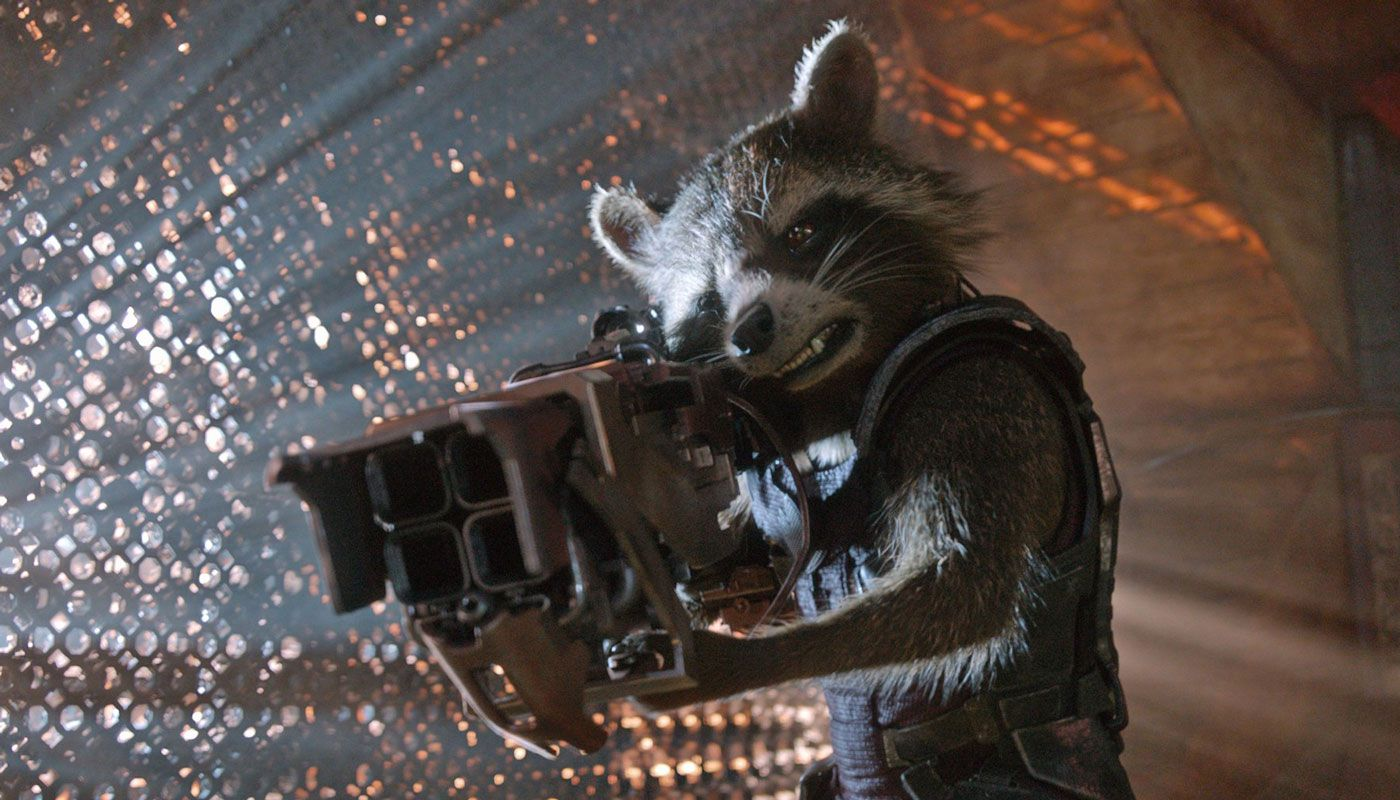 James Gunn Teases Rocket Raccoon S Past For Guardians Of The