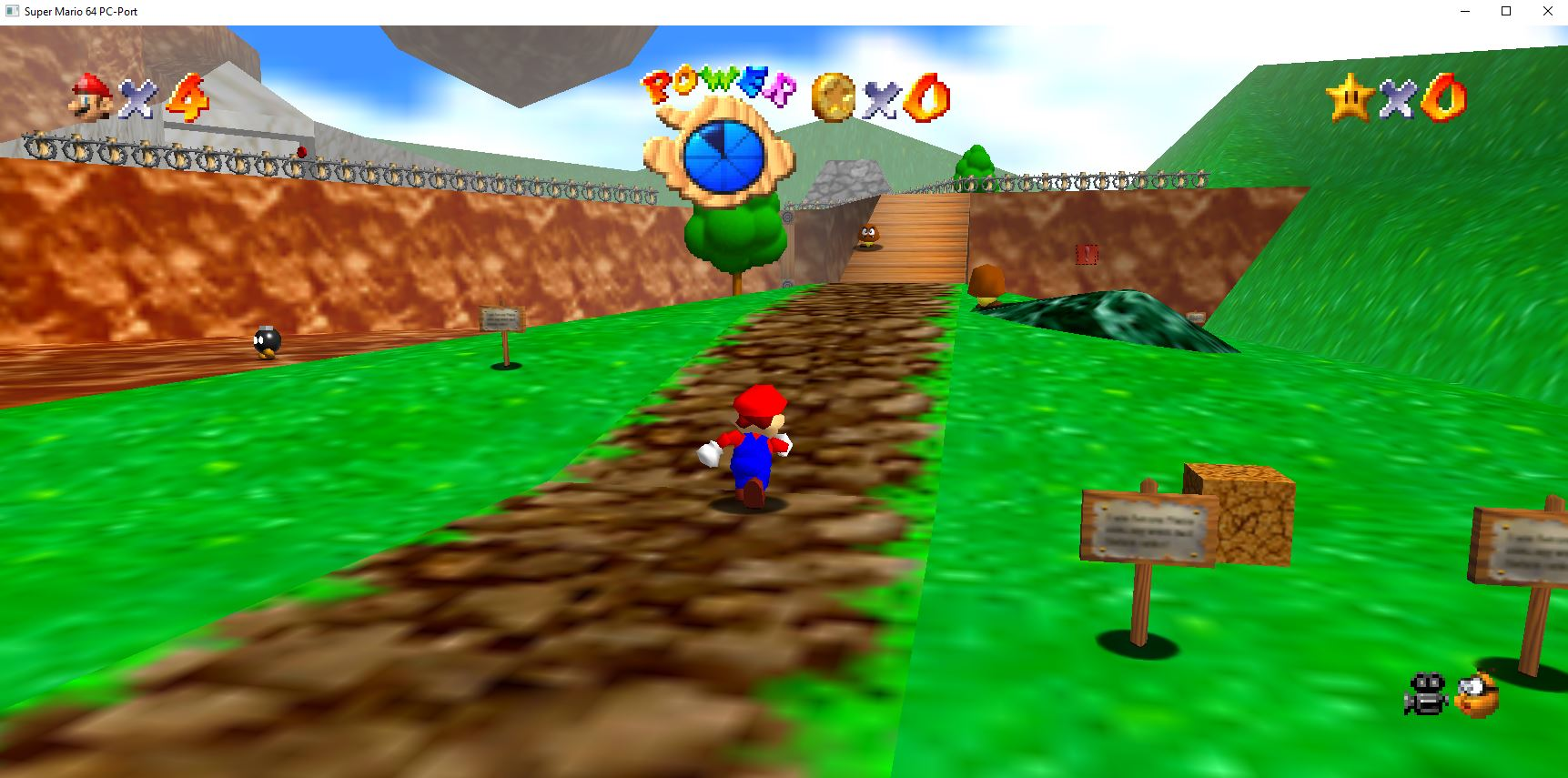 Fan Made Super Mario 64 Pc Port Supports 4k And Needs No Emulator