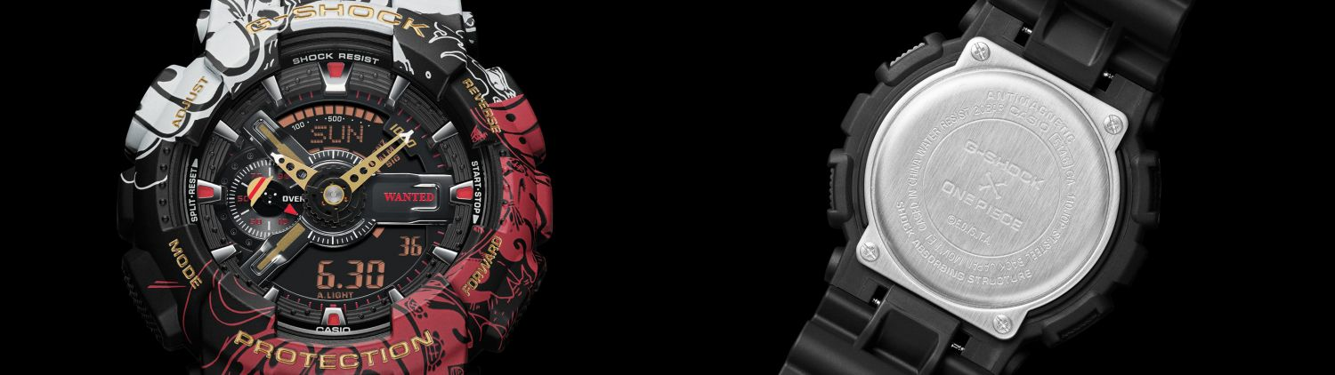 G-Shock Unveils One Piece And Dragon Ball Z Watch ...