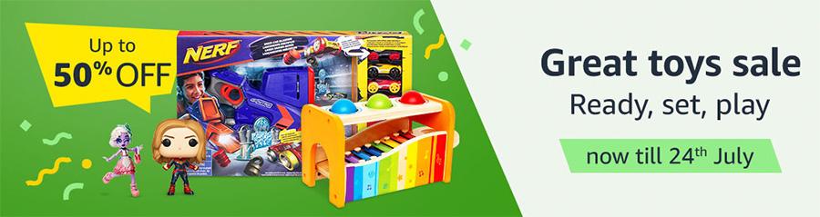 Les meilleurs Geek choisissent la première grande vente de jouets d'Amazon Singapour du 10 au 24 juillet