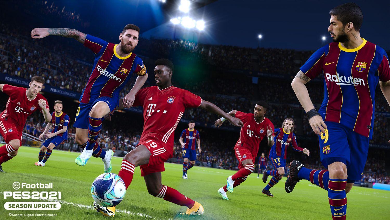 Konami Release Next Gen PES 2022 Teaser Trailer Starring Lionel Messi