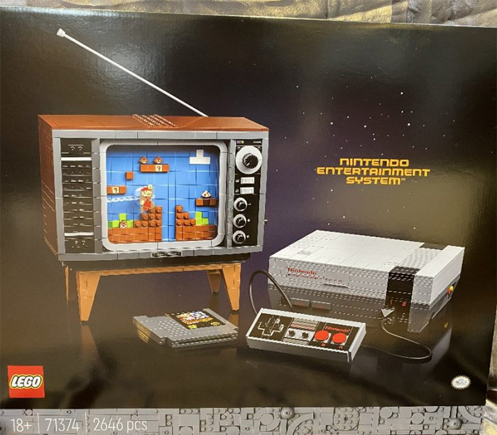 Leaked Lego 71374 Nintendo Entertainment System Set Uncovered With Lego Super Mario Launch Taking Centre Stage Geek Culture