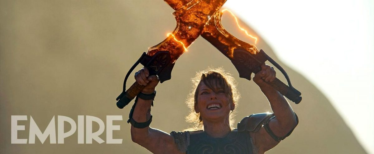 Monster Hunter Movie Brought Forward To This December And Is That Milla With A Minigun Geek Culture