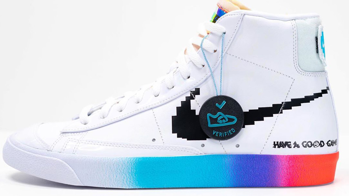 Nike Salutes Gamers With Retro Gaming