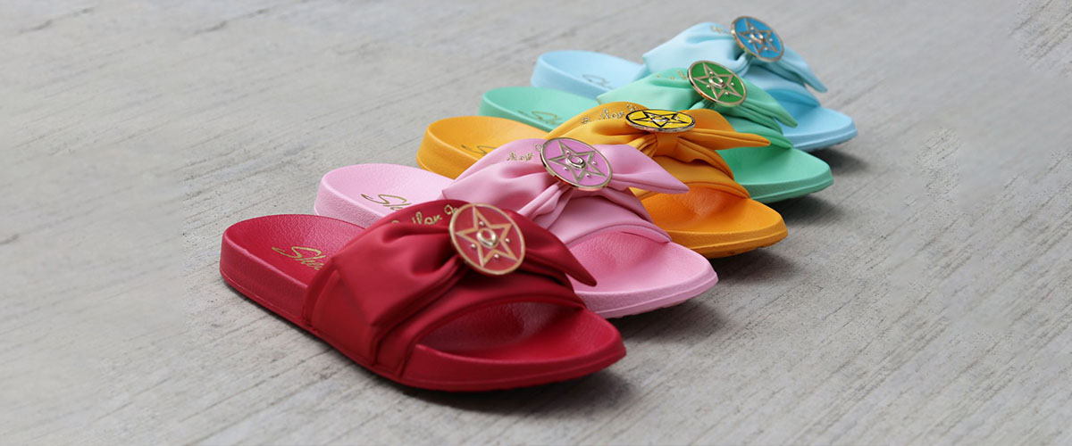 Skechers x Sailor Moon Slides