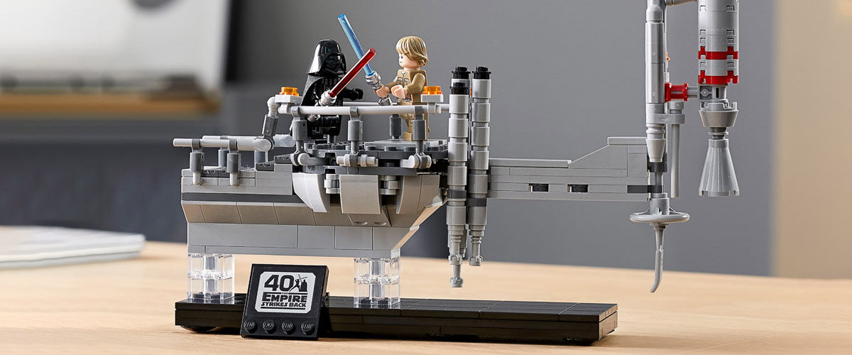 Lego 75294 Star Wars 40th Celebration Empire Strikes Back BESPIN DUEL Exclusive