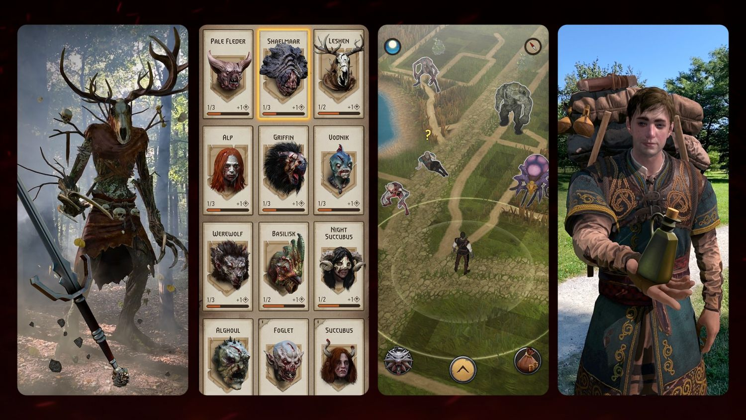 The Witcher: Monster Slayer is The Witcher 3 meets Pokemon Go