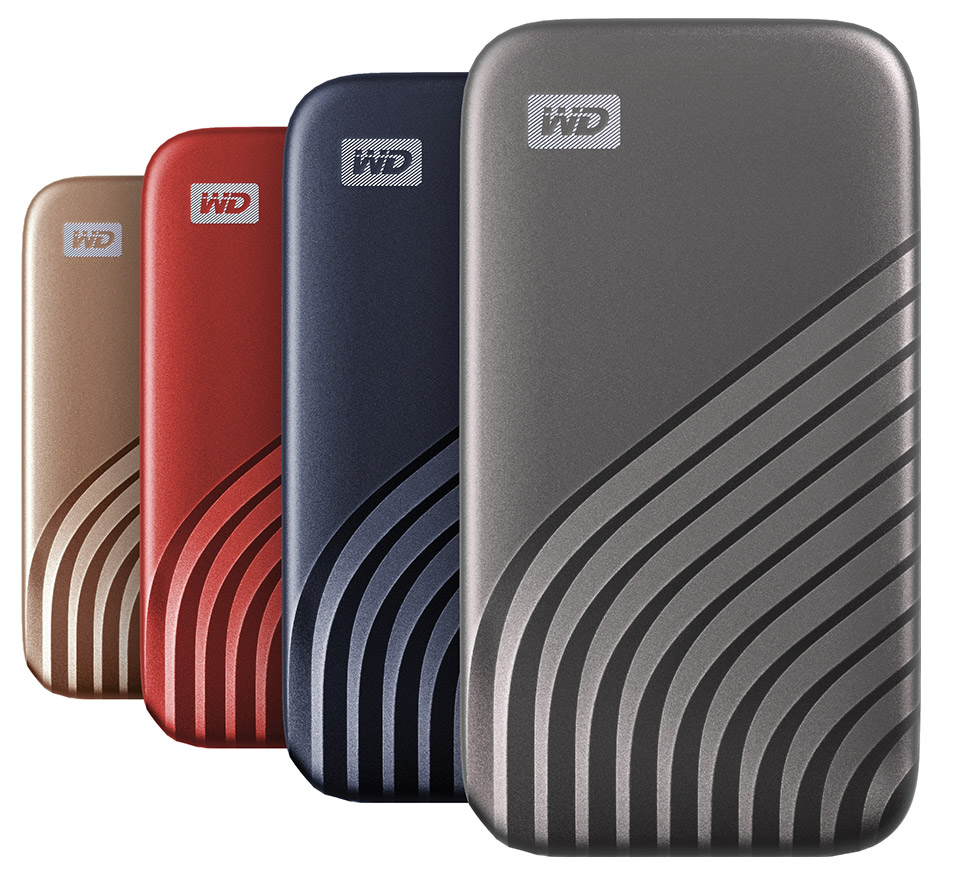 Western Digital Launches Faster 2nd Gen My Passport SSD