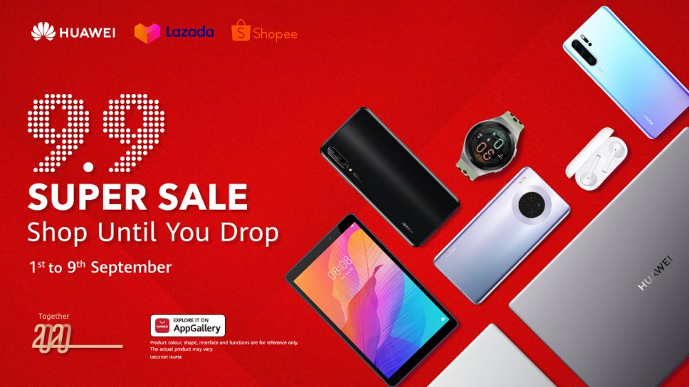 Here Are The Hottest Huawei Deals At The 9 9 Super Sale On Lazada Shopee Geek Culture