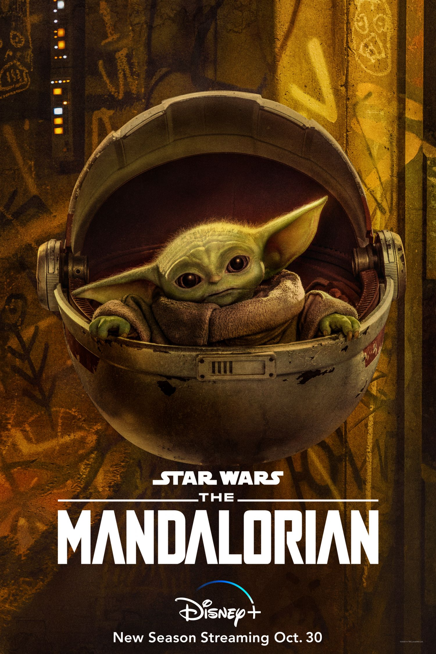 Posters Character Disney+ Mandalorian For The Releases