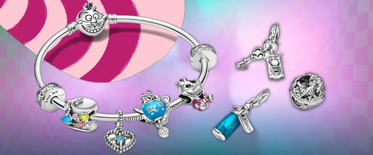 Go Down The Rabbit Hole With Pandora's New Alice In Wonderland ...