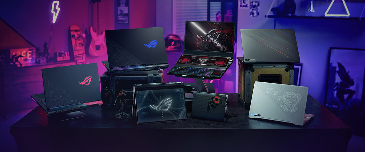 Seven ASUS ROG Gaming Laptops In 2021 For Four Types Of Gamers   Geek  Culture