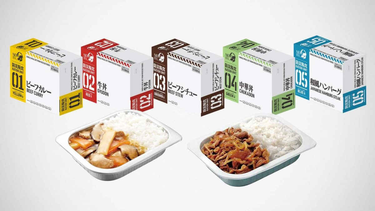 Eva ration main dishes