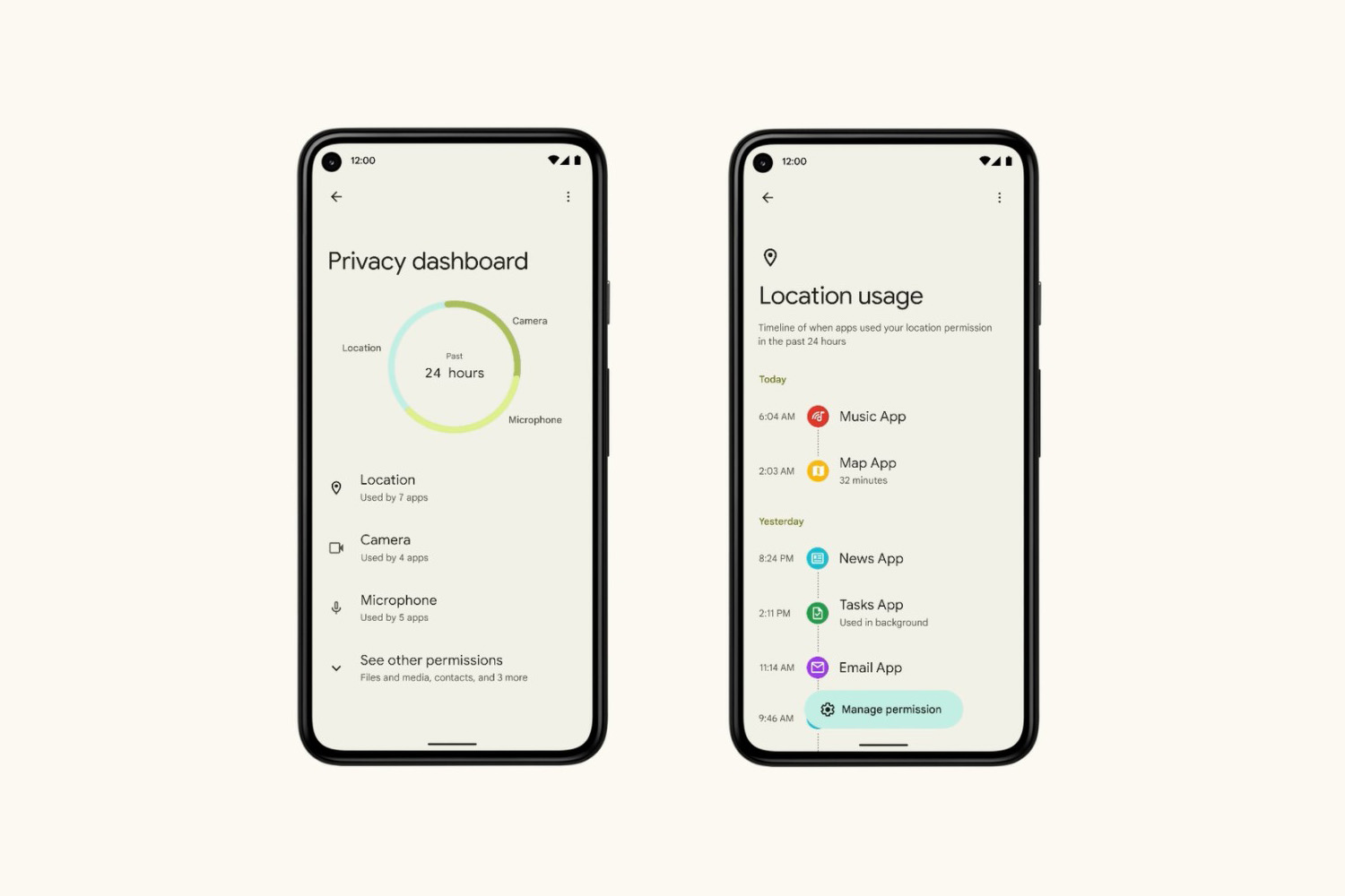 Google I/O 2021: Android 12's Privacy Dashboard Parks App Permissions All  In One Place | Geek Culture