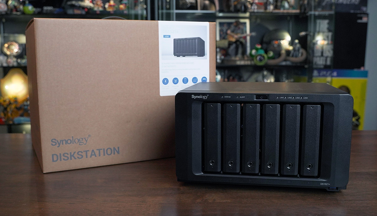 Synology DiskStation DS1621 plus 2