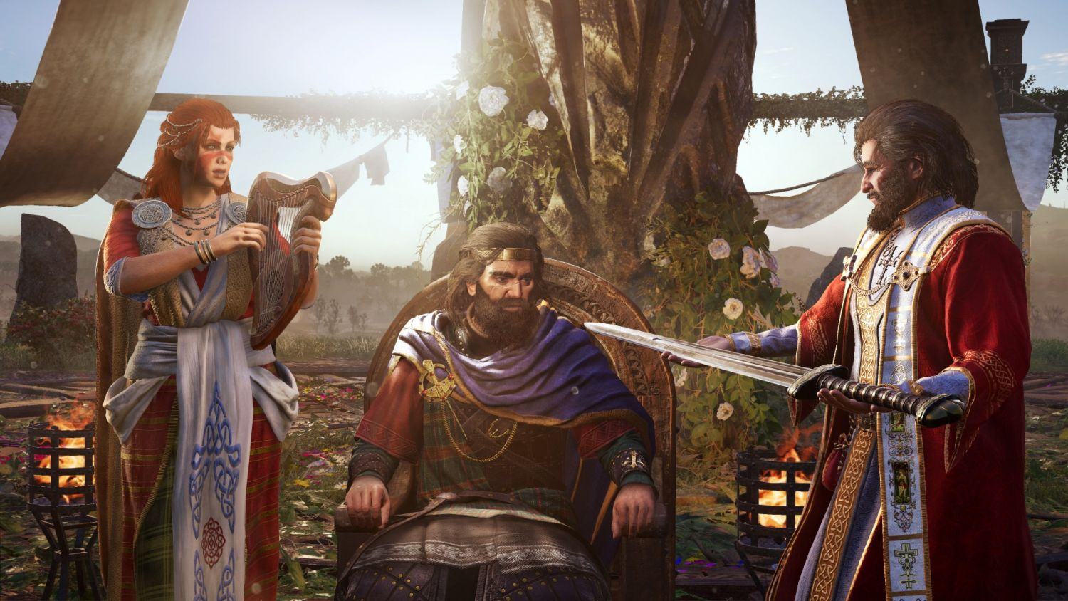 Assassin's Creed Valhalla - Wrath of the Druids - Playing kingmaker