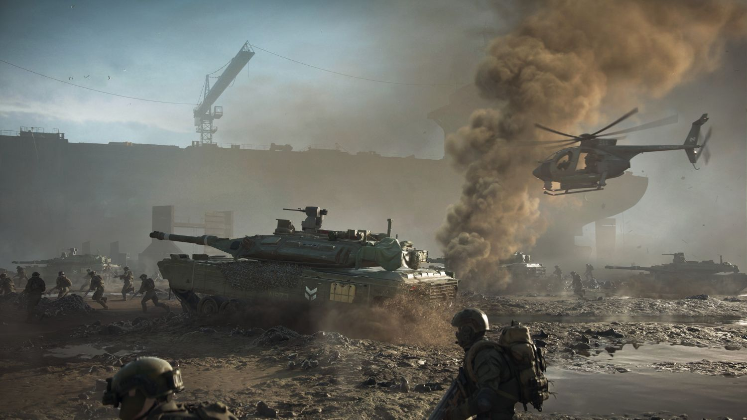 All-out warfare with crossplay in Battlefield 2042