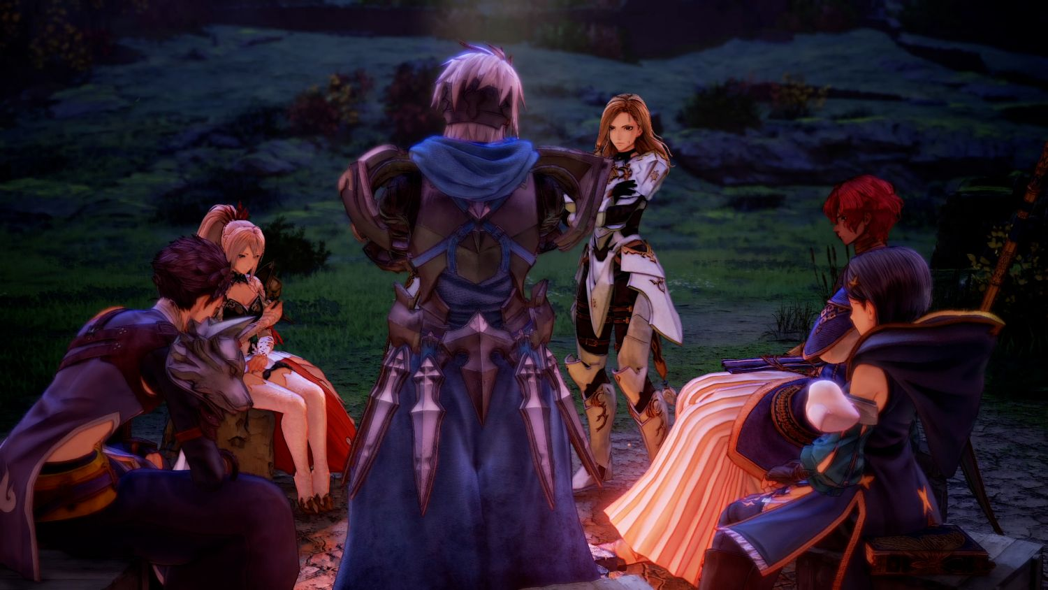 Tales of Arise features - Camping