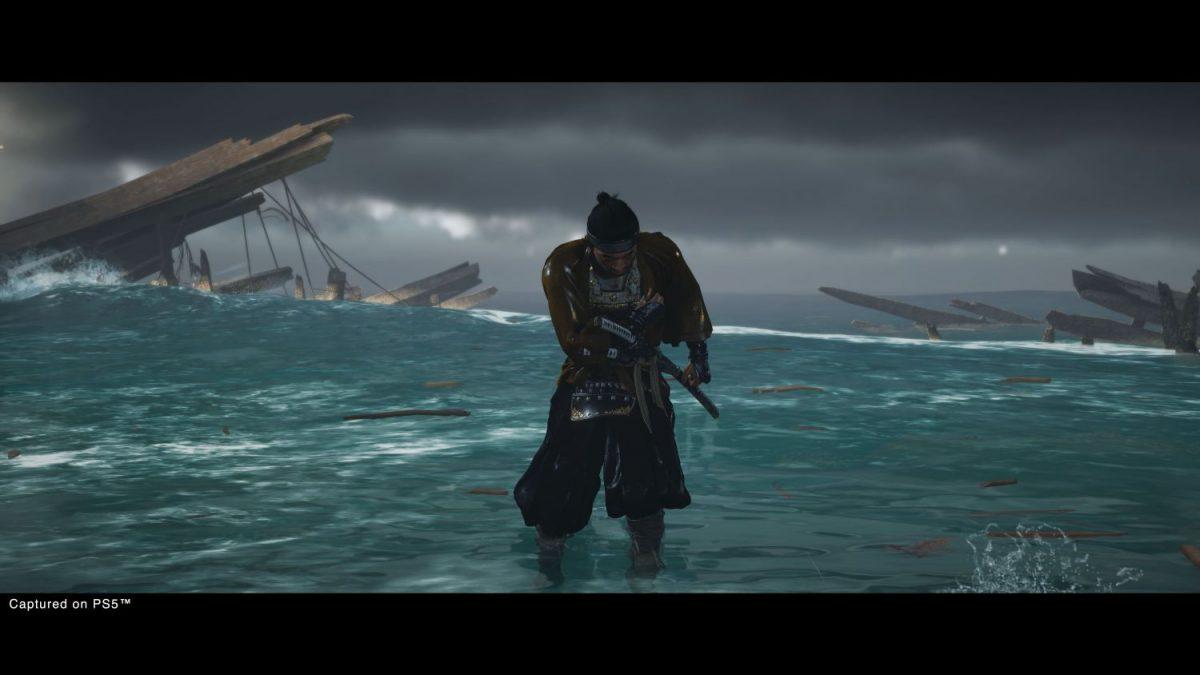 Jin Sakai in Ghost of Tsushima Director's Cut