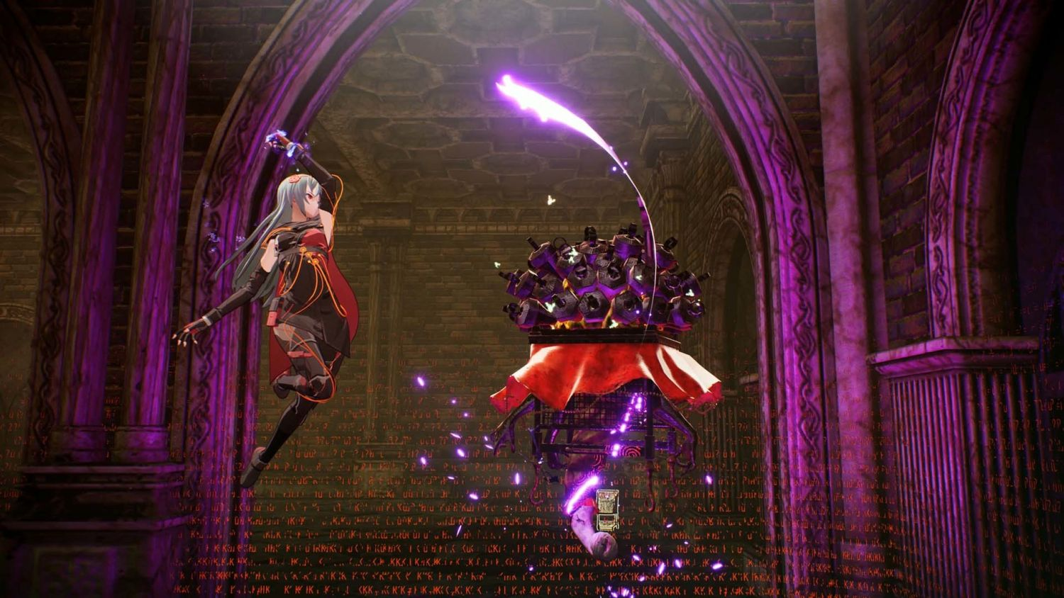 Taking to the air with Kasane in Scarlet Nexus