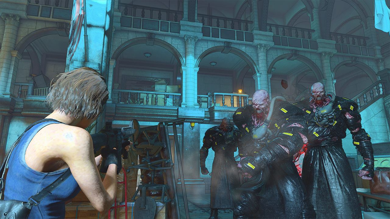Resident Evil Re:Verse in action.