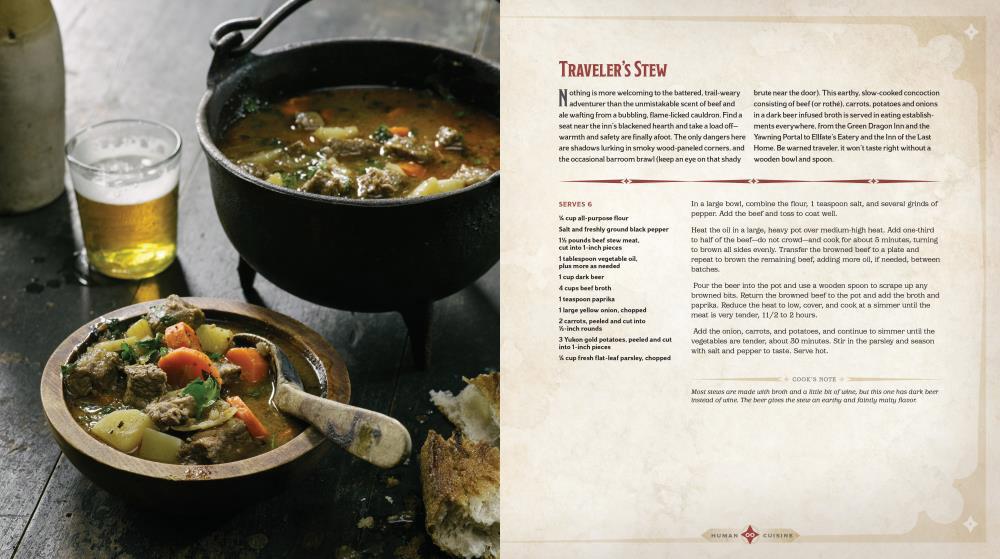 d&d cookbook