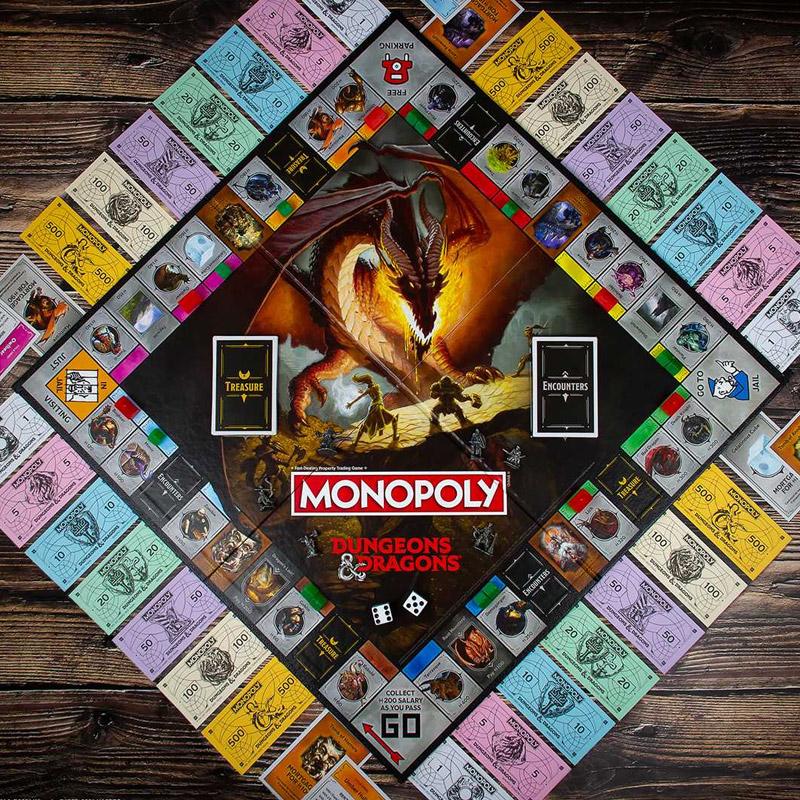 d&d monopoly