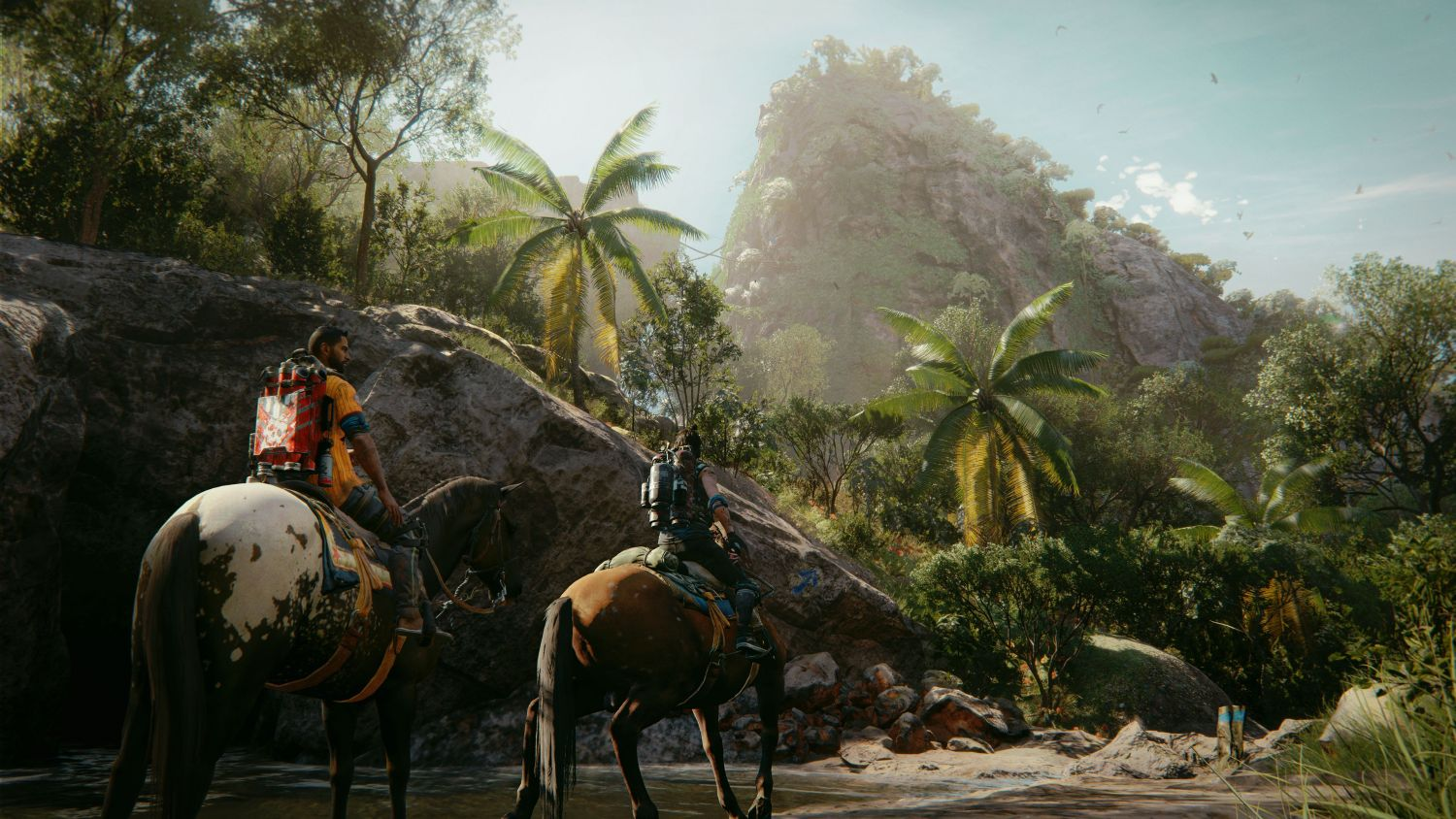 Horse-riding in Far Cry 6