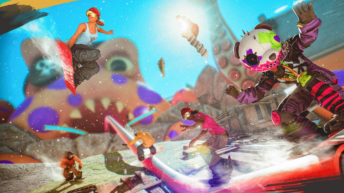 Riders Republic Closed Beta Preview - Tricks Battle