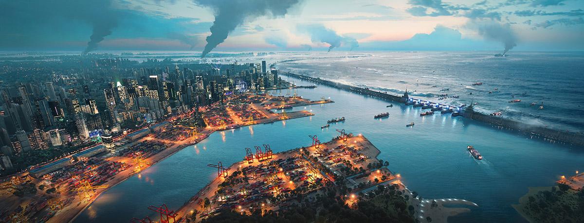 Brani Island, Singapore in Battlefield 2042 - The surrounding areas