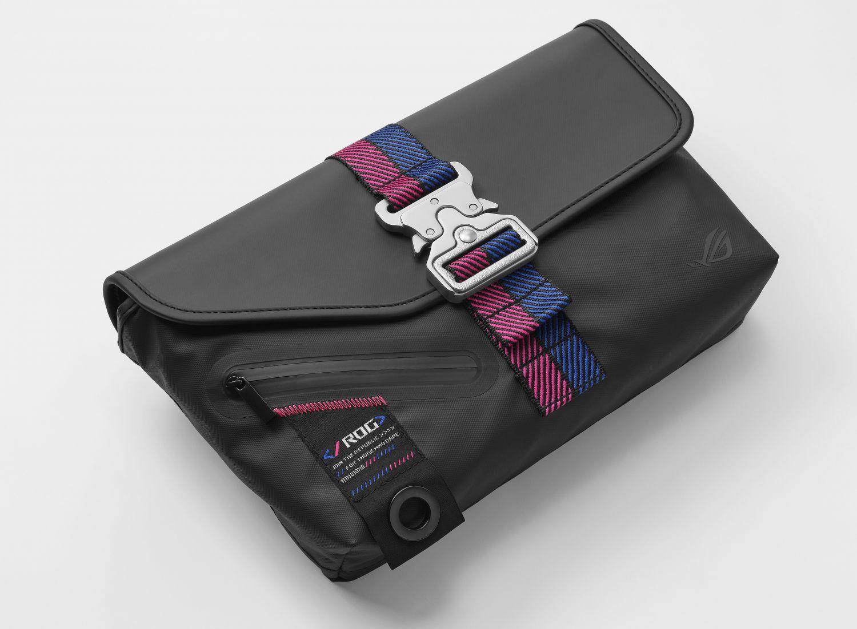 ASUS Republic Of Gamers Rolls Out ROG SLASH Fashion Line Celebrating Cyberpunk Life - Sling Bag