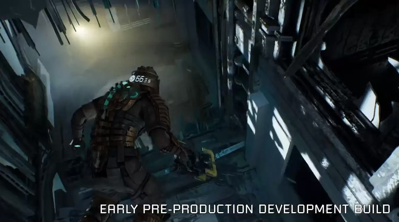 Zero-G sections in the Dead Space Remake