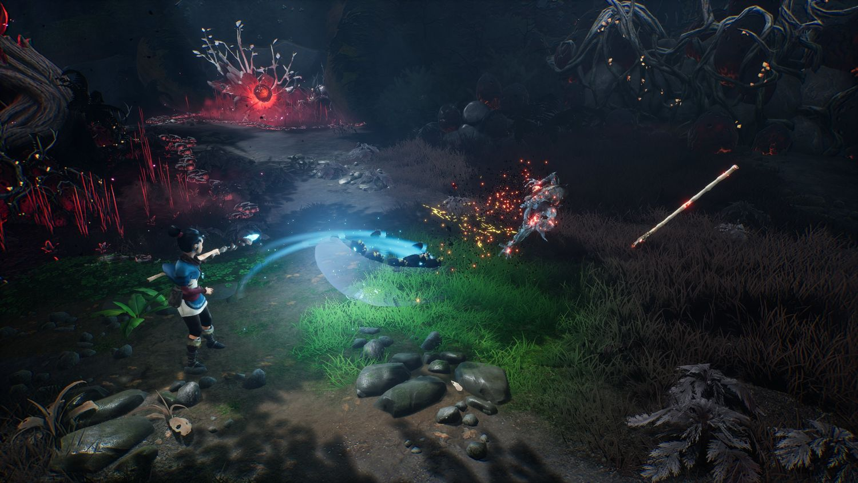 Geek Review - Kena: Bridge of Spirits - Combat
