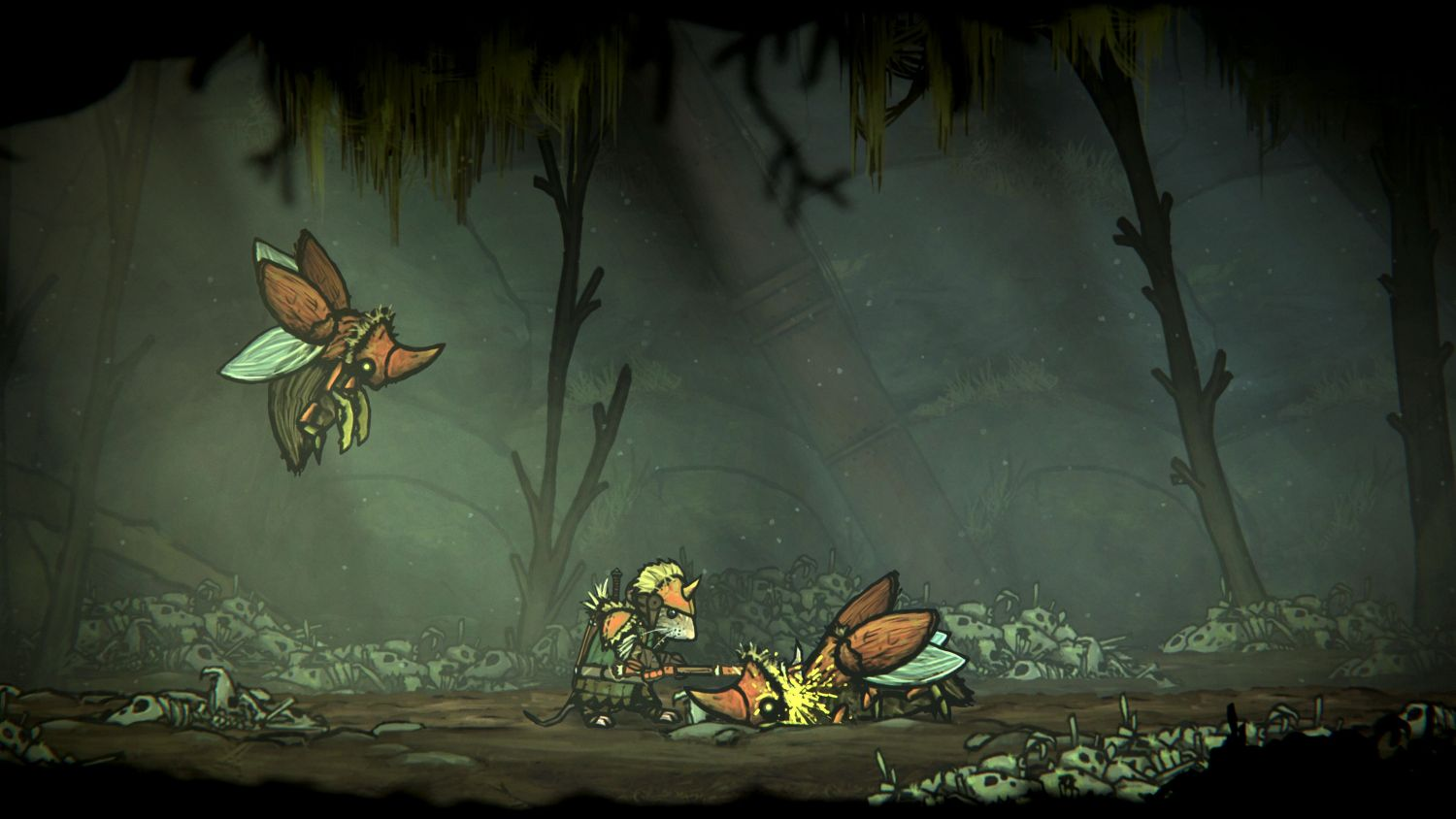 Geek Review: Tails of Iron - Killing grubs