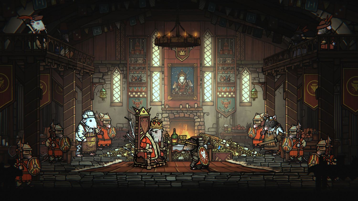 Geek Review: Tails of Iron - Redgi and the King