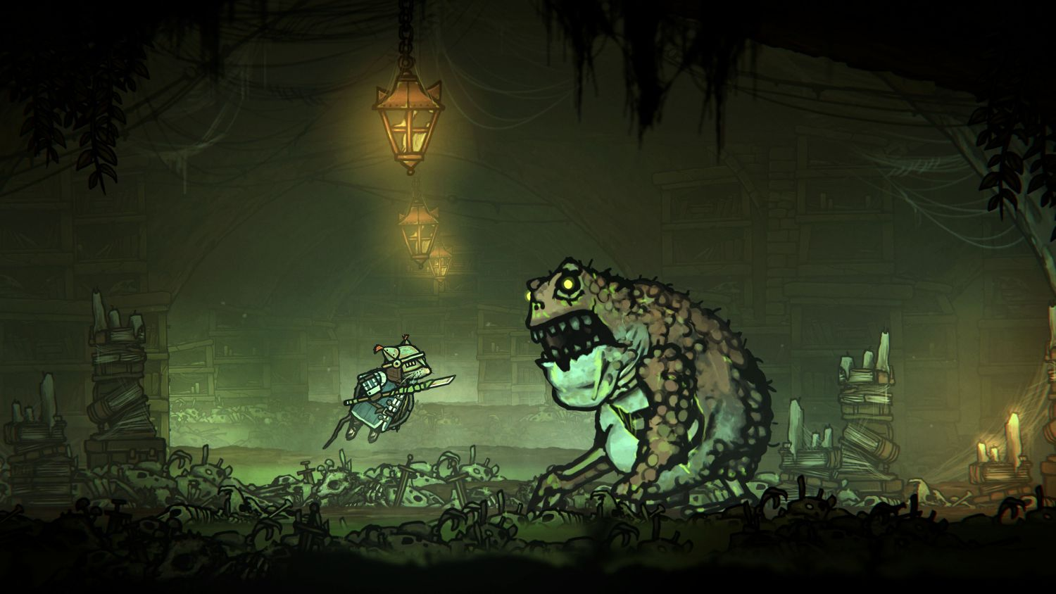 Geek Review: Tails of Iron - Frogs are a nightmare