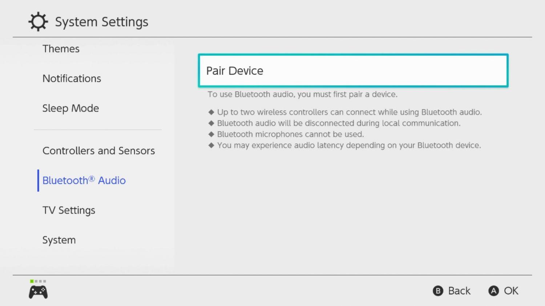 Nintendo Switch 13.0.0 Update Finally Adds Bluetooth Audio Functionality