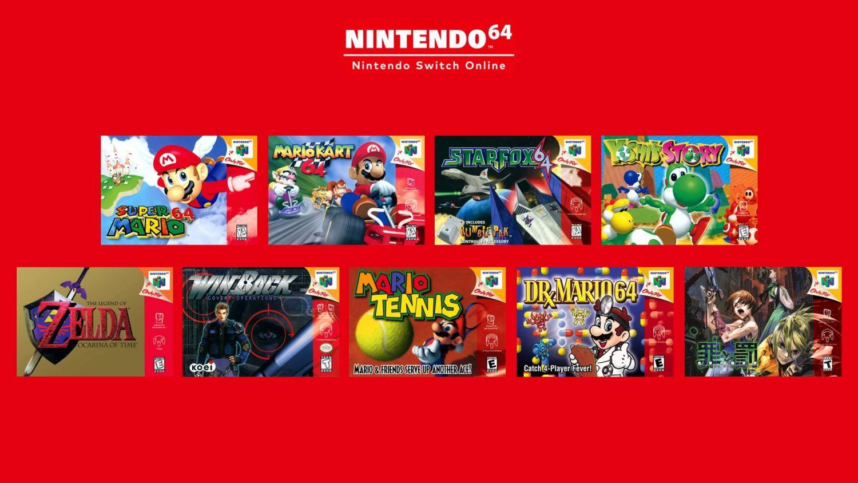 Nintendo Switch Online - N64 Games