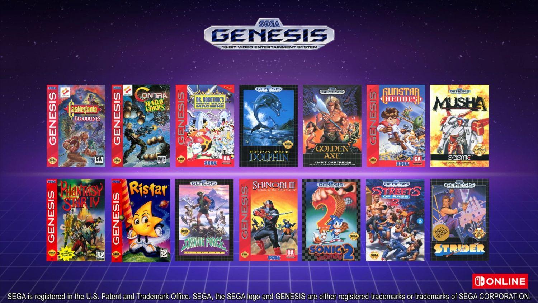 Nintendo Switch Online - Sega Genesis Games