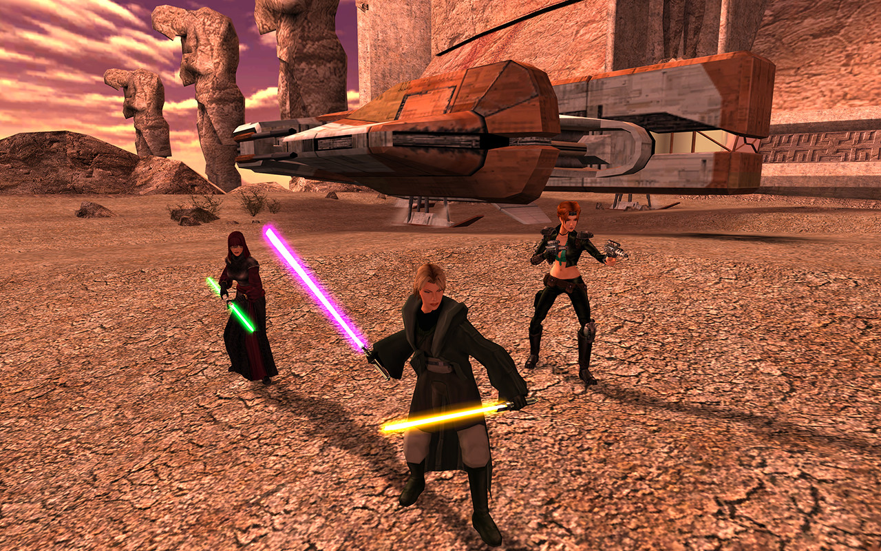 The recent remaster of Star Wars: Knights of the Old Republic