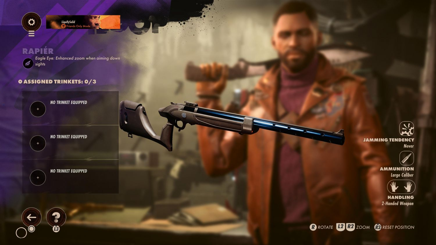 The Best Weapons And Slabs In Deathloop You Need To Know - The Rapier