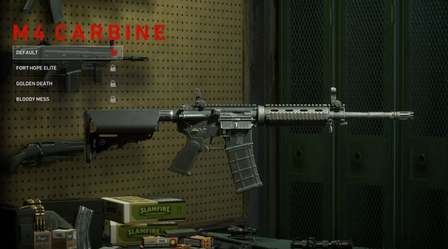 Back 4 Blood – Best Weapons Guide - M4 Carbine