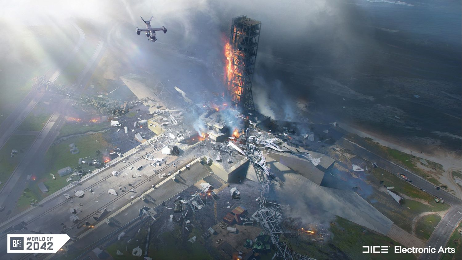 Geek Preview: Battlefield 2042 Open Beta Delivers On All Fronts - The Orbital Map