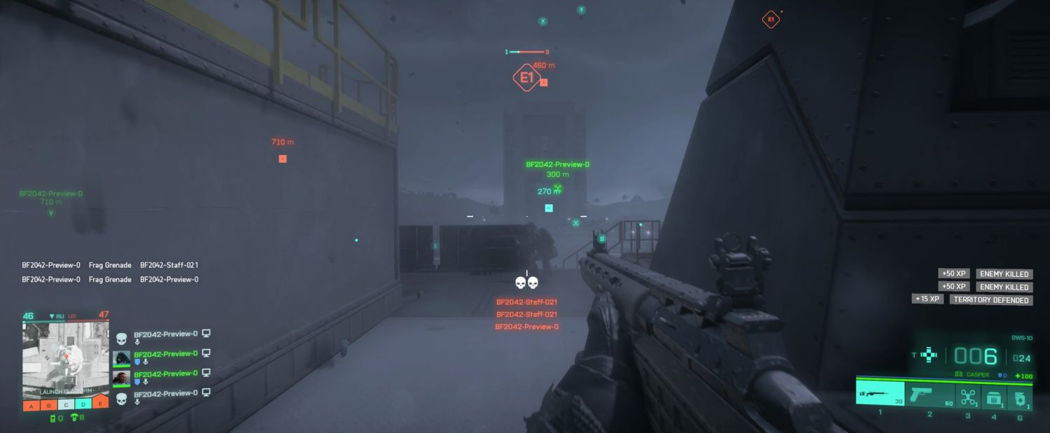 Geek Preview: Battlefield 2042 Open Beta Delivers On All Fronts - Changing conditions