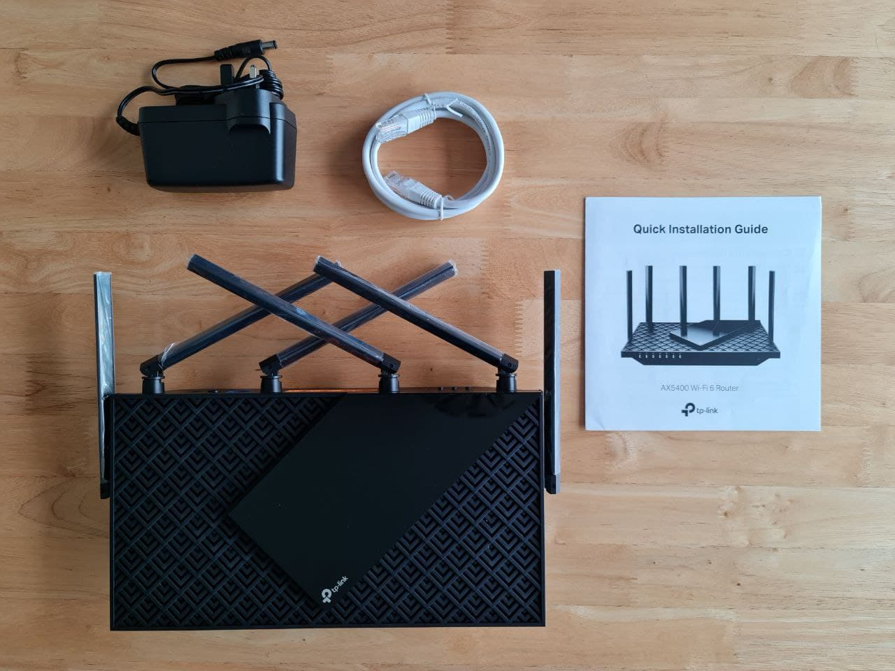 Geek Review: TP-Link Archer AX72 Router - The package