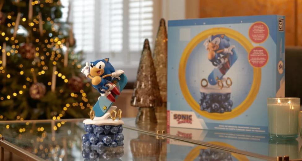 Bring home the Sonic the Hedgehog advent calendar!